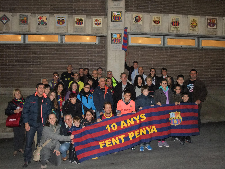 Queden dues places per omplir l expedici penya for Bar marfil barcelona
