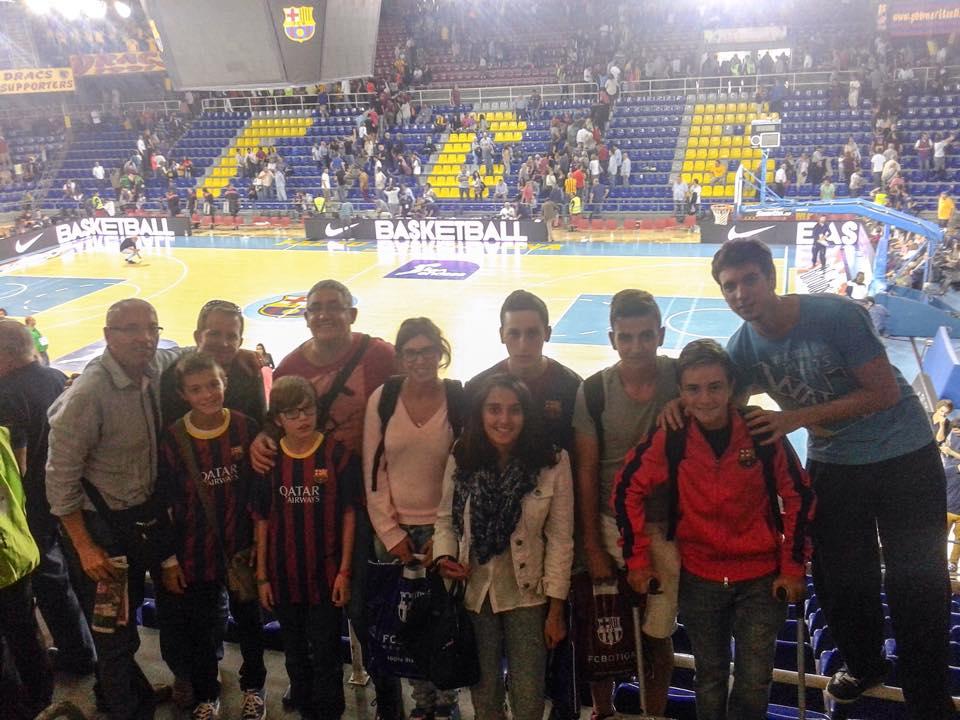 La PB Tamarells al Palau Blaugrana