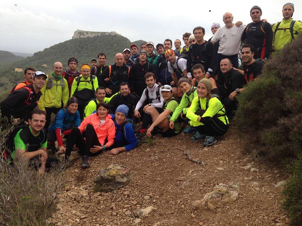 Corredors de trail de la PB Els Tamarells