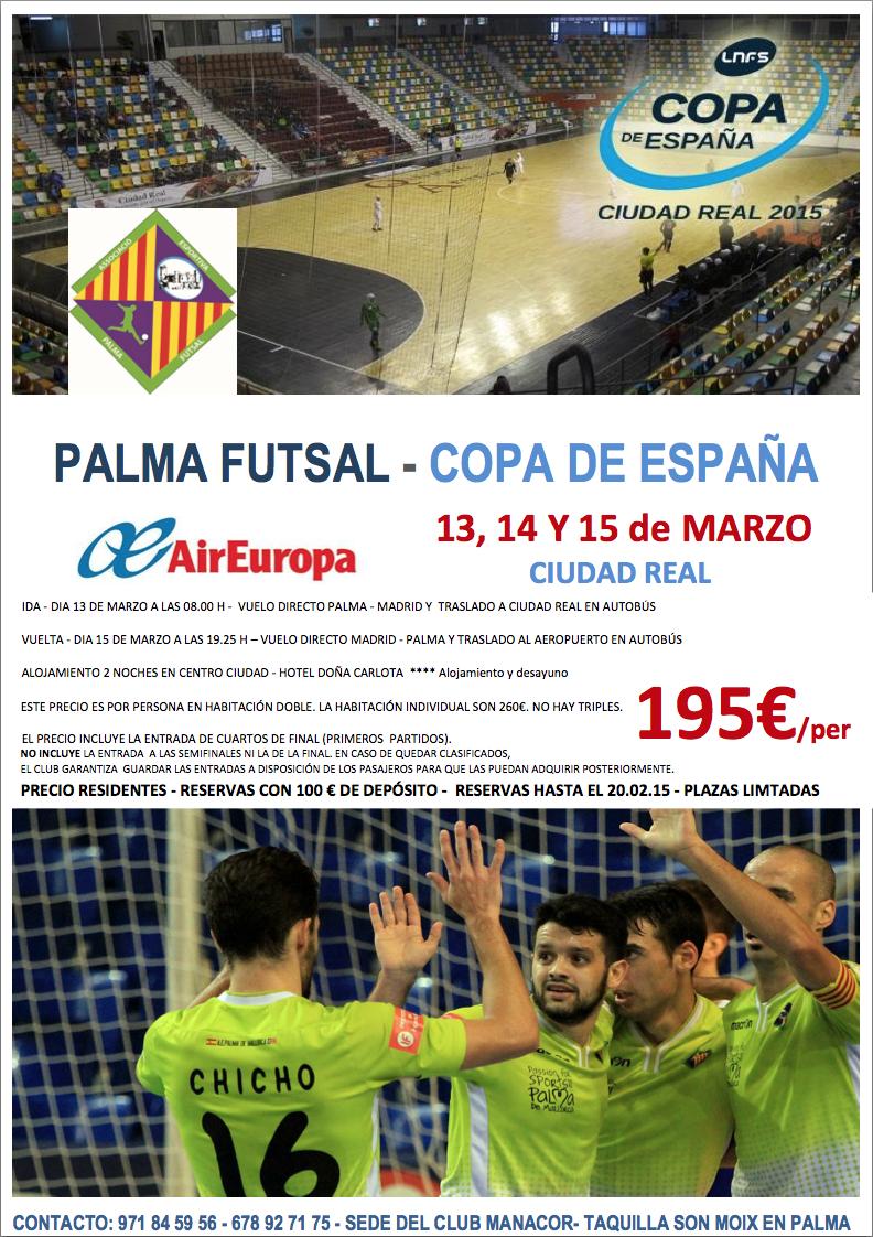 Cartell Copa d'Espanya futbol-sala