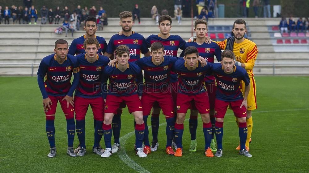 Equip Juvenil FC Barcelona 2015-2016