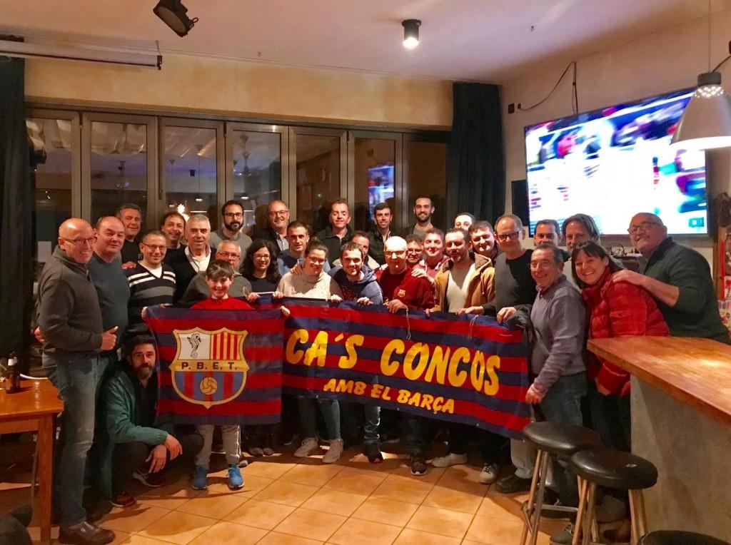 socis-assistents-al-sopar Cas Concos