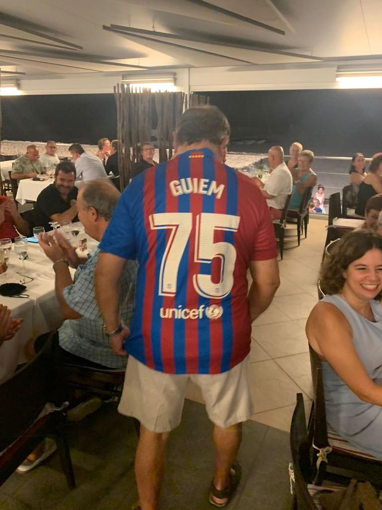 Guillem samarreta FCB